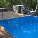 бассейн каркасный или надувной