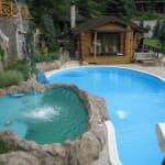 цена стационарного бассейна для дачи