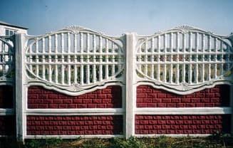заборы, декоративный забор из бетона