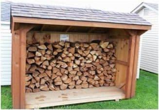 постройка дровяника цена