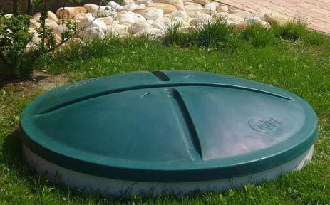 крышка для колодца пластиковая для индивидуальных домов