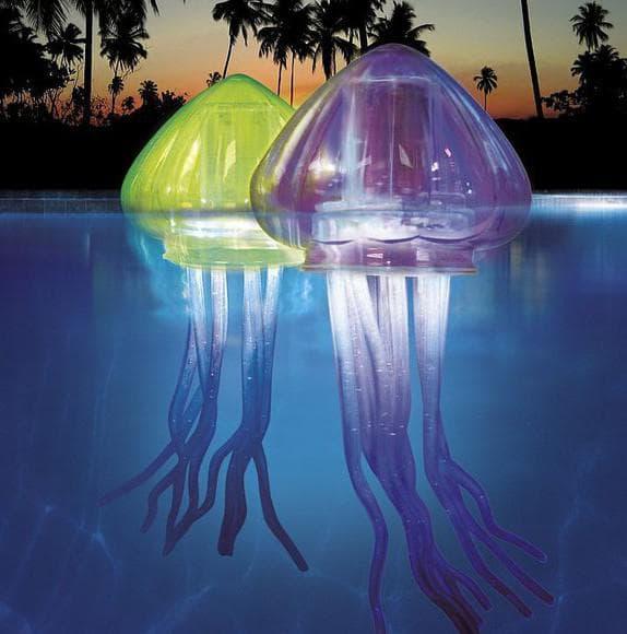 подводные светильники для бассейна плавающие