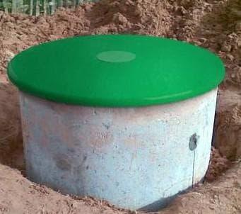 пластиковая крышка для шахтных водоносных колодцев