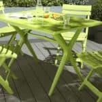 Пластиковая и деревянная мебель для дачи в Леруа Мерлен