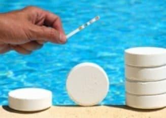химический способ для очистки бассейна на даче