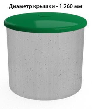 пластиковая крышка для колодца от Экопром» из Санкт-Петербурга
