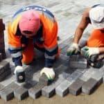 Технология правильной укладки тротуарной плитки на песок