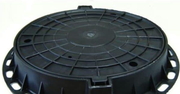 пластиковая крышка для колодца от Компании Standartpark