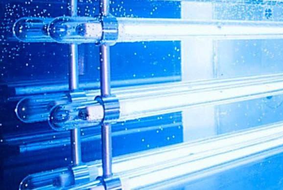 Ультрафиолетовое облучение для очистки бассейна на даче