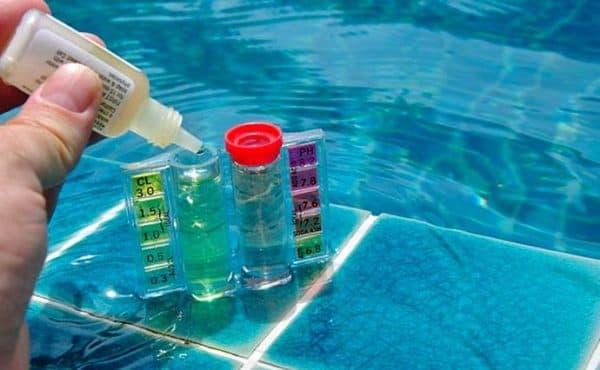 бромирование открытых бассейнов на даче