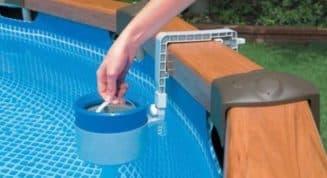 очистка каркасных бассейнов на даче