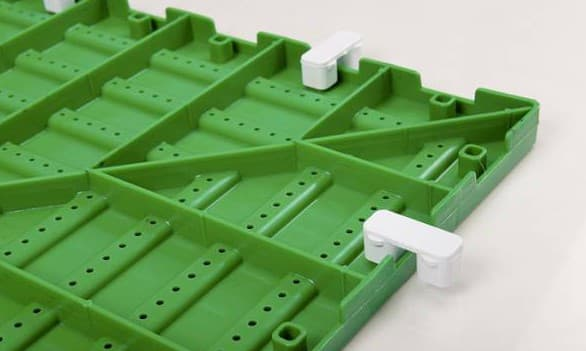 пластиковая плитка для дорожек на даче от ПластДор