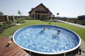 пластиковые монолитные бассейн для дачи Каркасные сборные