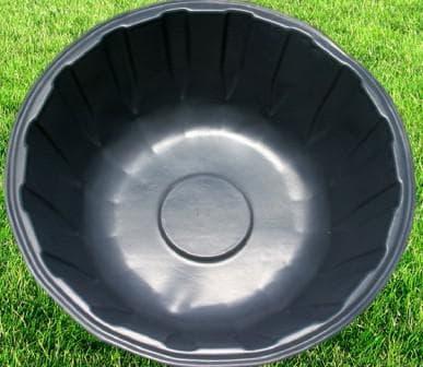 пруд пластиковый садовый круглой формы