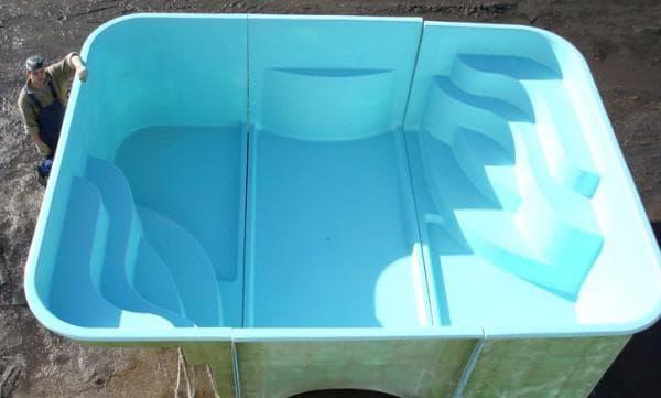 пластиковый бассейн от Комтек