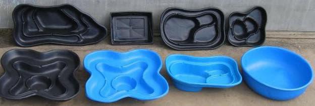 пруд пластиковый садовый от Крис Групп
