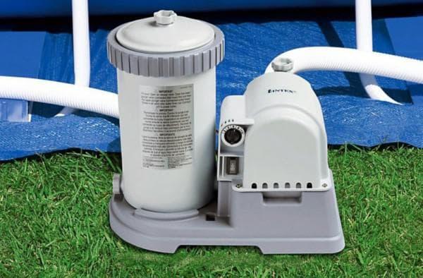 электрический нагреватель воды для бассейна intex