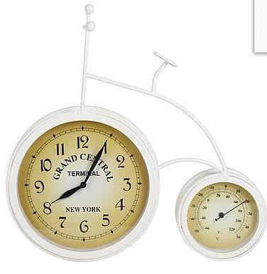 уличные часы с термометром