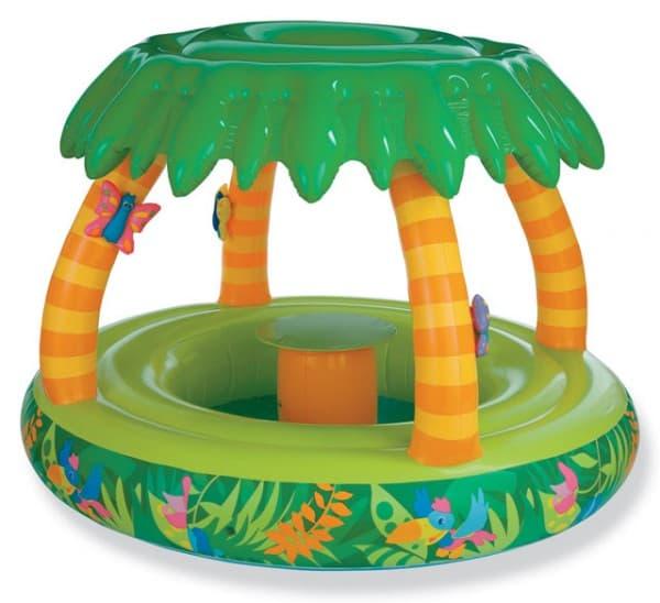 детские надувные бассейны для малышей высокопрочные