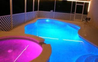 светильники для бассейна подводные
