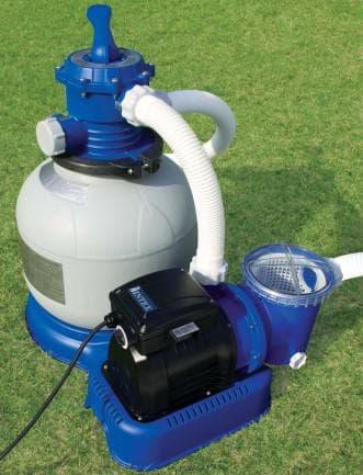 насос и фильтр для очистки бассейна