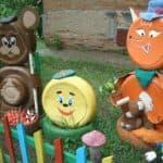 поделки для украшения детской площадки