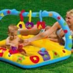 Какие бывают детские надувные бассейны для малышей
