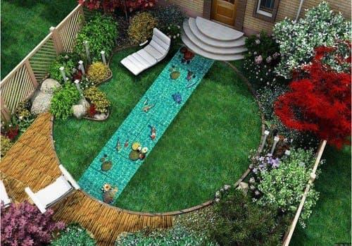 садовая дорожка 3D