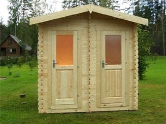как построить душ для дачи