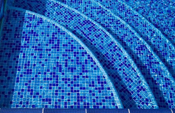 бассейны для дачи мозаичная отделка