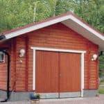 Как реализовать проект гаража с баней под одной крышей?