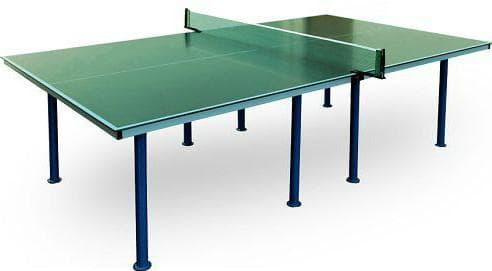 всепогодный теннисный стол для дачи из пластика