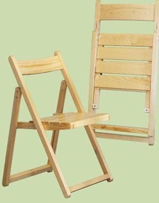 деревянный раскладной стул для отдыха на природе