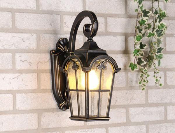 фонари для дачи или загородного дома