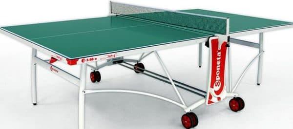 всепогодный теннисный стол для дачи от Sponeta