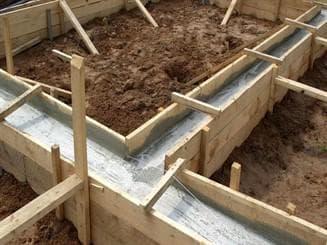 бетонный фундамент под теплицу