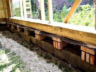 блоки для фундамента под теплицу