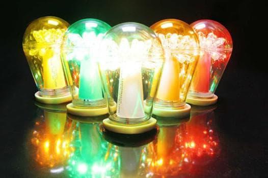 светодиодные лампочка для сада