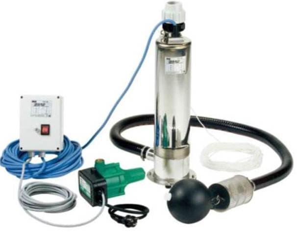 погружной насос для автоматической системы полива