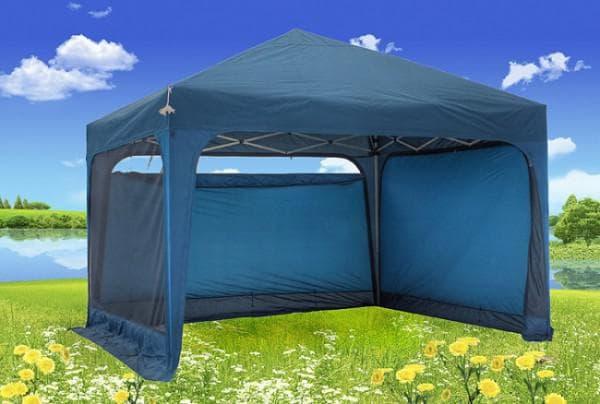 шатры для дачи леруа мерлен синего цвета
