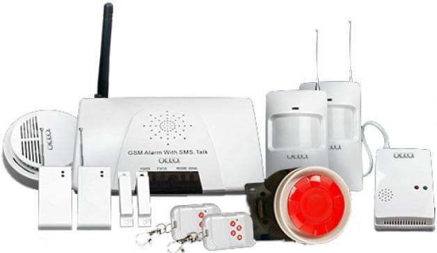 gsm сигнализация для дачи с видеокамерой от TANTOS GSM