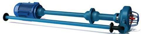 Полупогружной фекальный насос с измельчителем для дачи