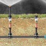 Установка системы полива на даче из пластиковых труб