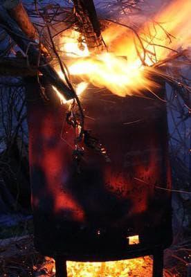 бочка для зжигания мусора большое приемущество дачника