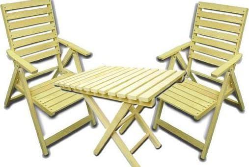 складная мебель для отдыха на природе от СТЭЛС