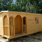 цена деревянной бытовки