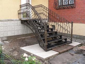 вариации входных лестниц