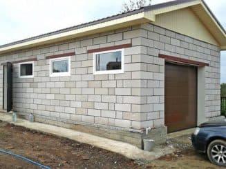 Пеноблоки для гаража