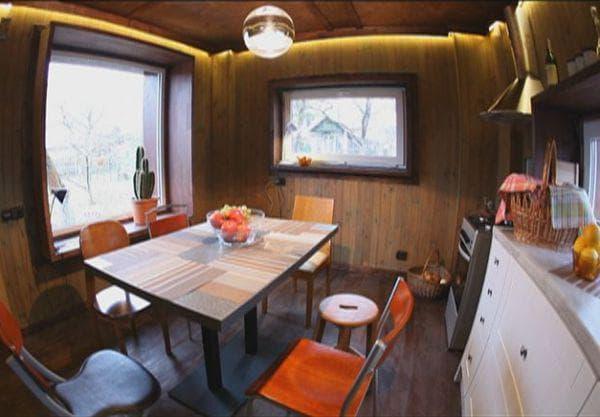 Деревянные летние кухни