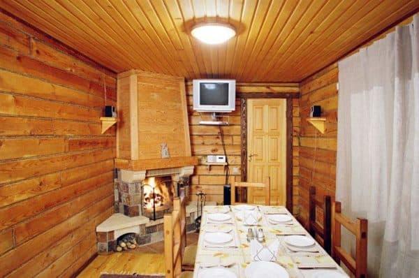 уютная комната в бане